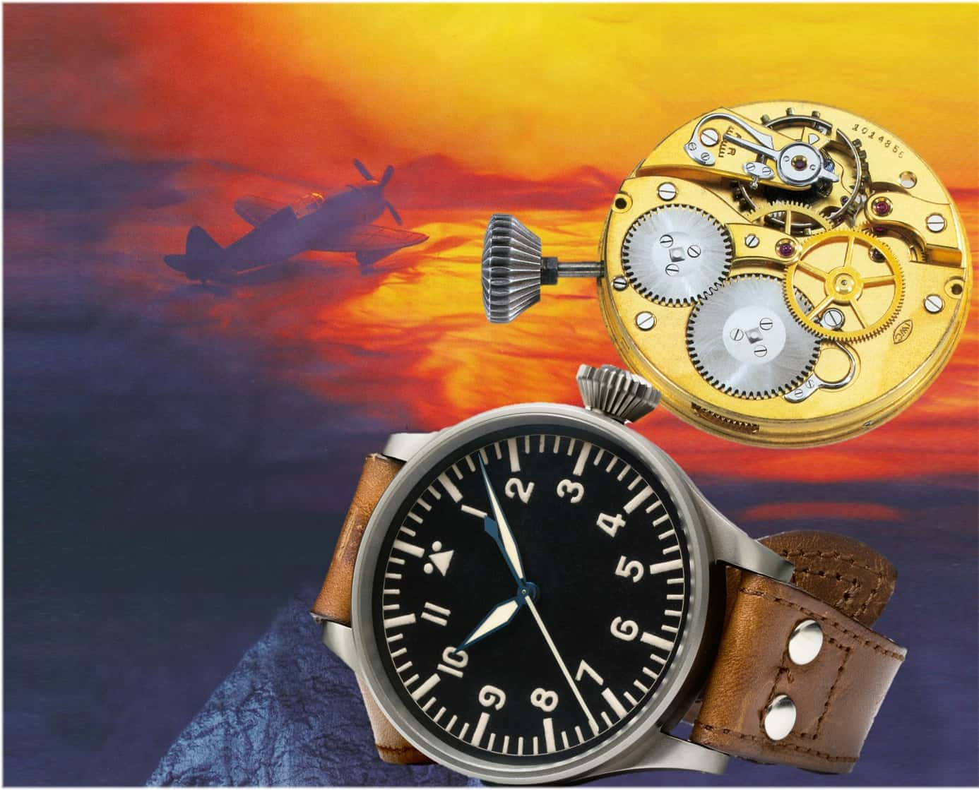 IWC grosse Fliegeruhr Kaliber 52 TSC C Uhrenkosmos