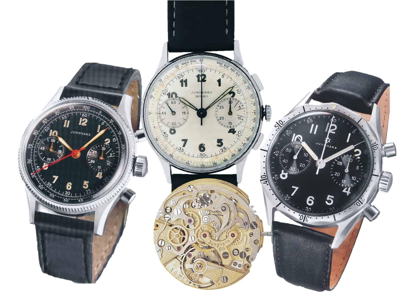 Junghans Chronographen mit dem Manufakturkaliber J88