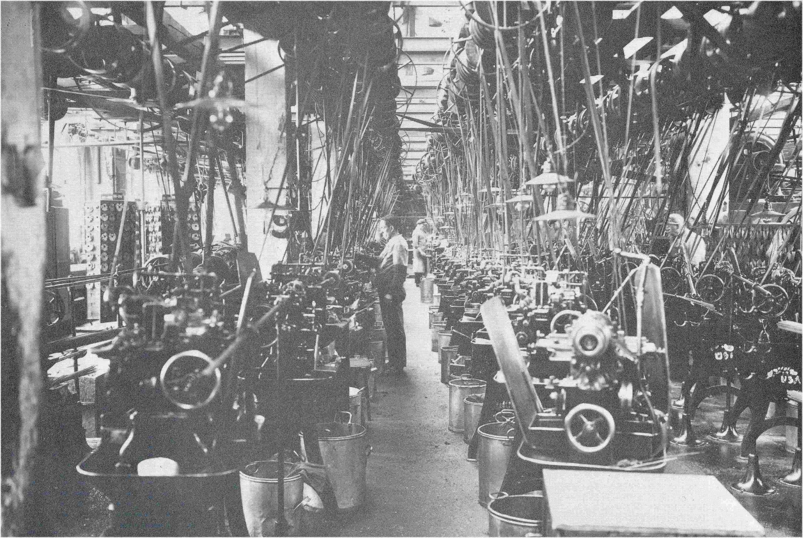 Junghans Produktion mit amerikanischen Maschinen Ende 19. Jahrhundert scaled