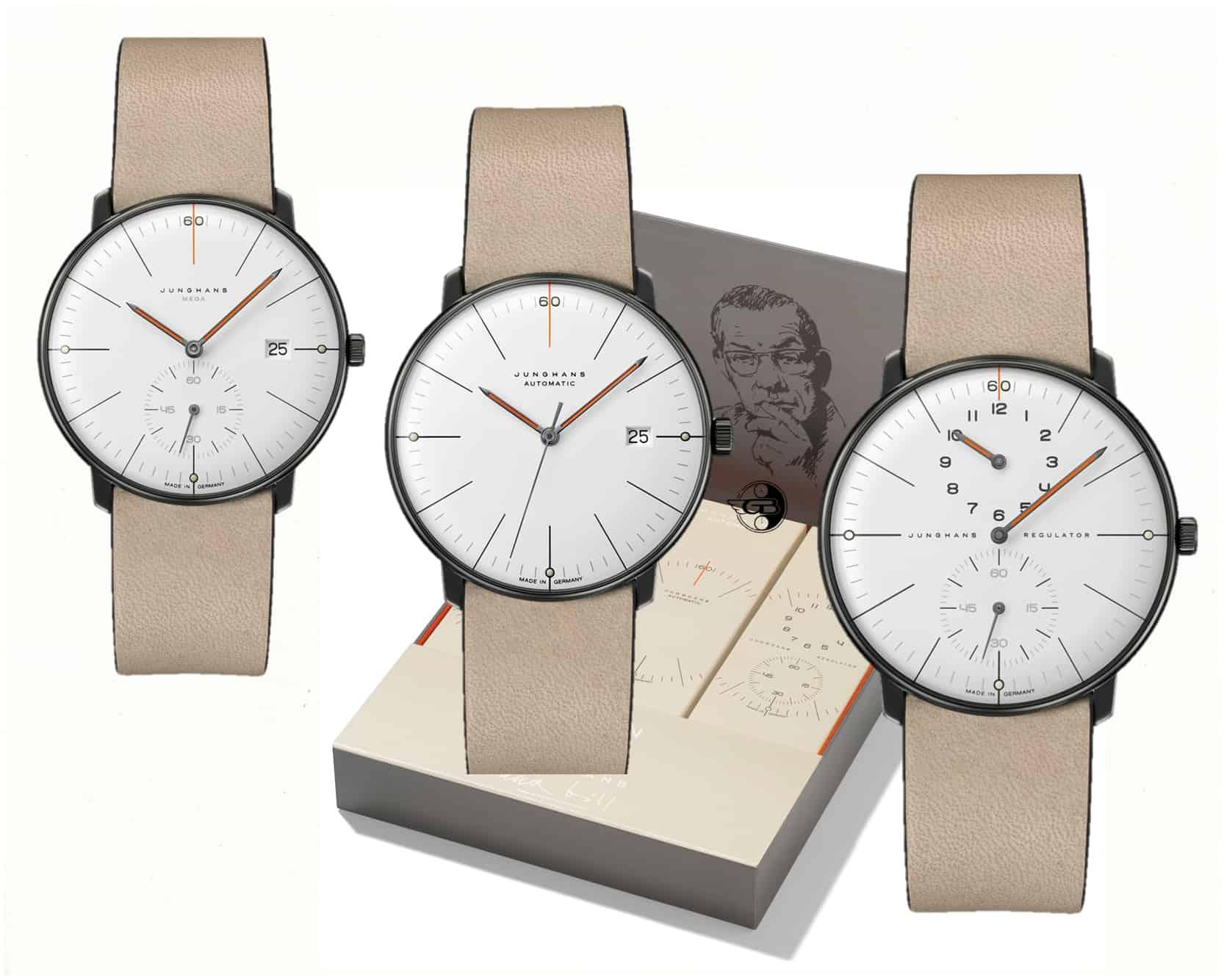 Junghans bill Edition Set 60 C GLB Uhrenkosmos