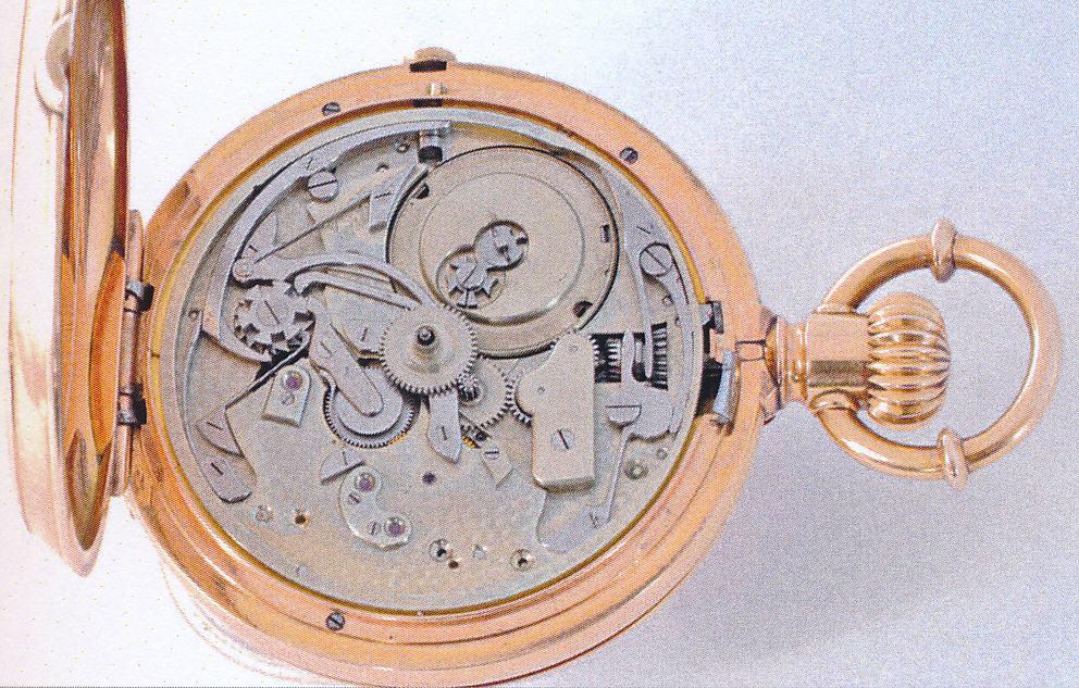 Nullstell-Chronograph Jules Jürgensen um 1870