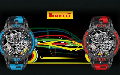 Pirelli Formel 1 Uhr von Roger Dubuis Roger Dubuis Excalibur Spider Pirelli MB: Der Boxenstopp fürs Handgelenk