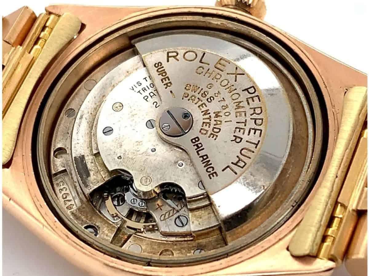 Frühes Rolex Datejust Automatik-Kaliber 3730