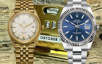 """Rolex mit Fensterdatum Rolex Datejust: Einfach """"die Uhr"""" schlechthin!"""