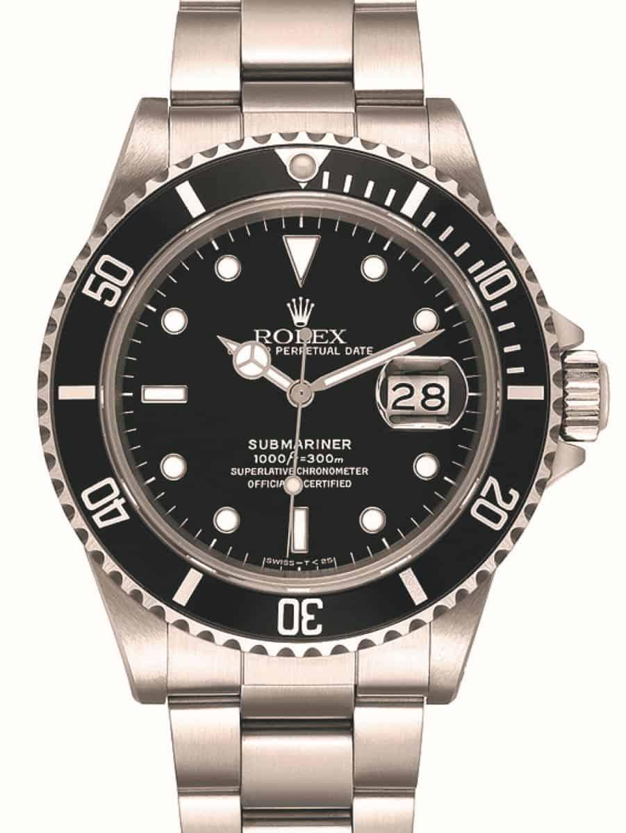 Rolex Submariner mit Datumslupe von 1979