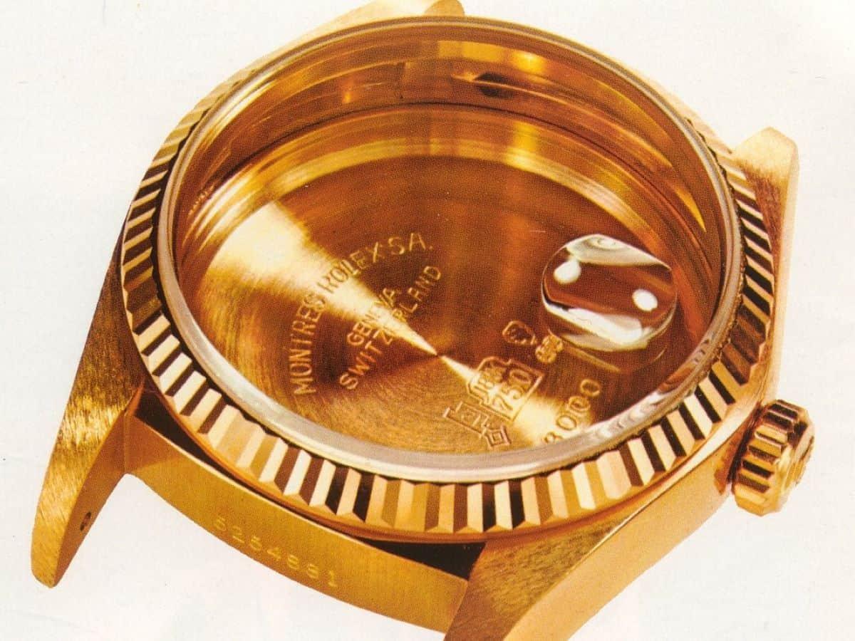 Rolex Zykloplupe Datumslupe