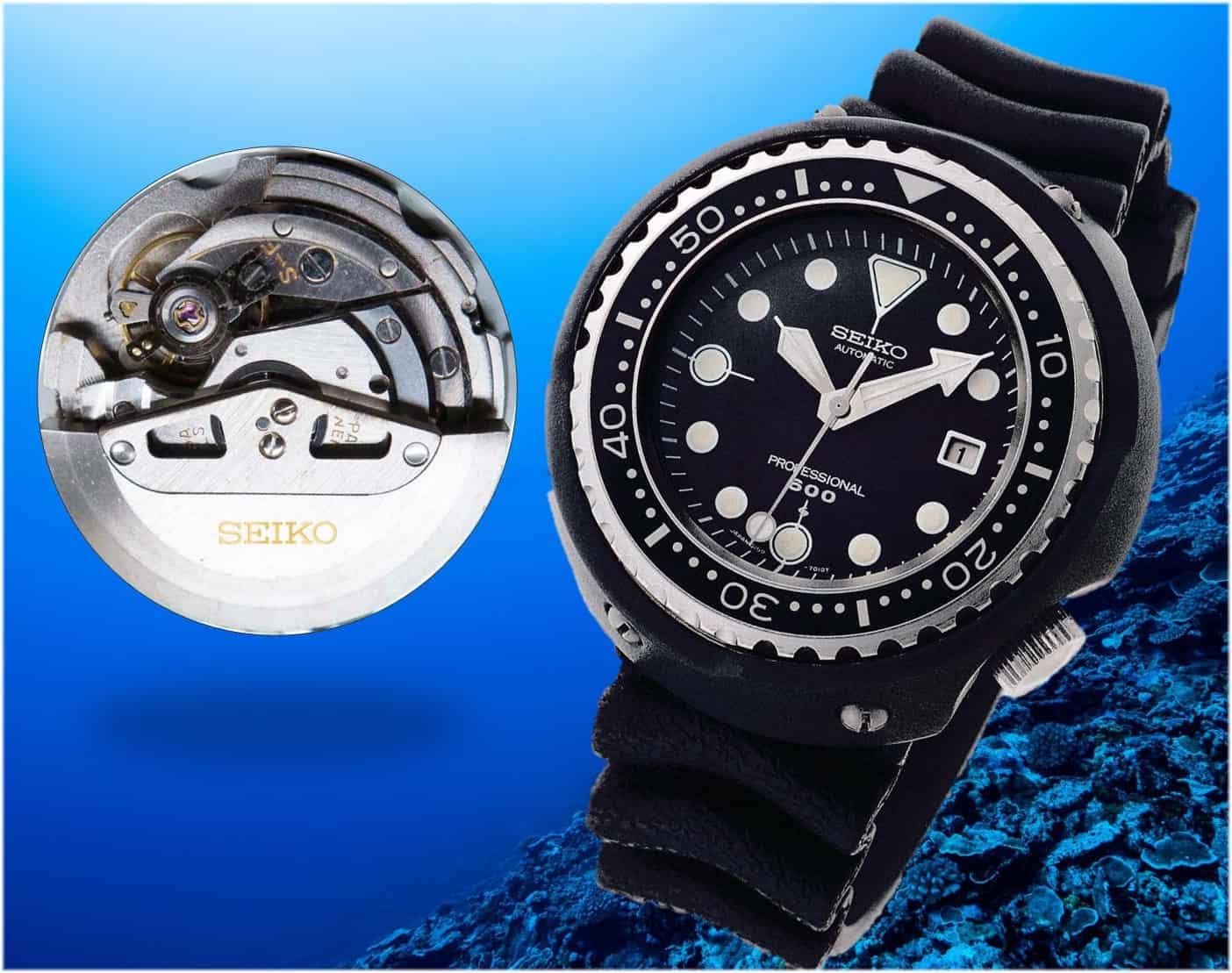 Seiko Professional 600m Watch Kaliber 6159A von 1975