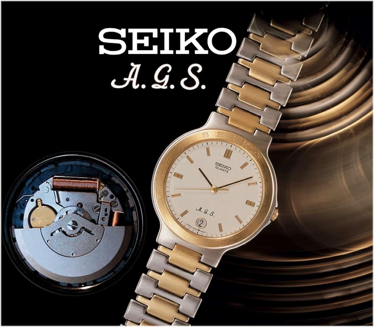 Seiko Quartz A.G.S. 1988 (C) Uhrenkosmos