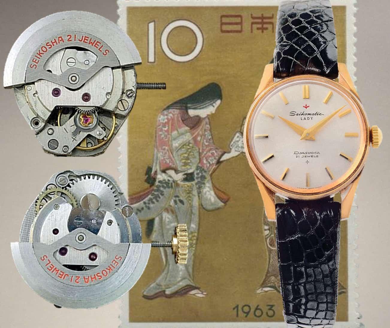 Das Seiko Modell Seikomatic Lady von 1963