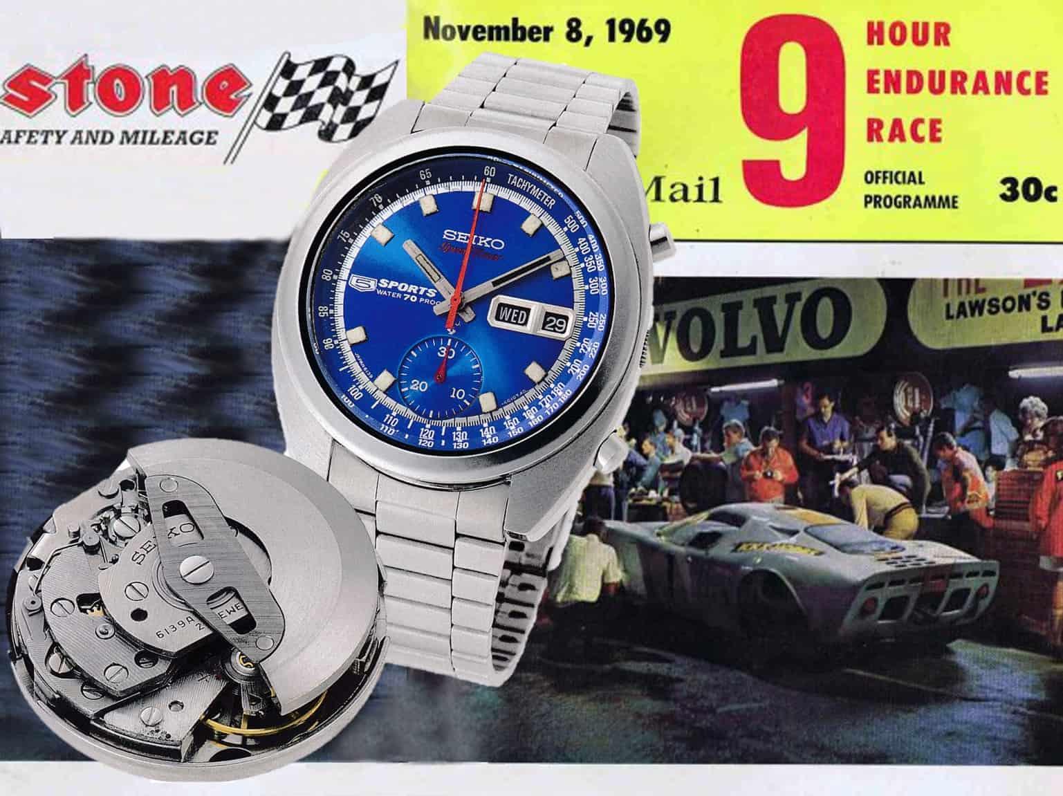 Seiko Sports 5 Automatikchronograph aus dem Jahr 1969