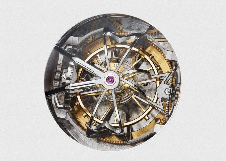 Sphärisches Tourbillon und sphärische Unruhspirale VC Referenz 57260