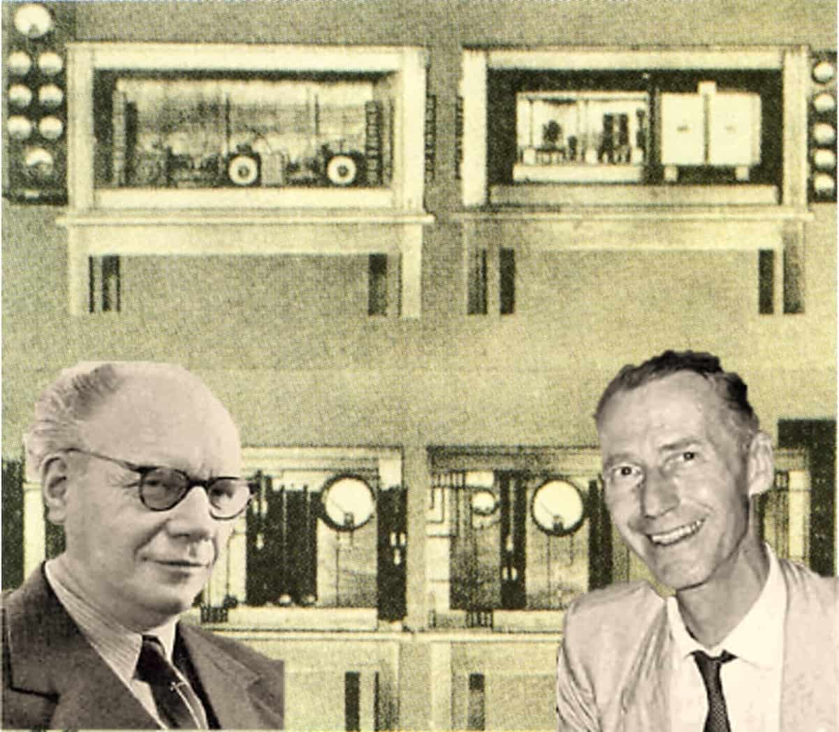 Deutsche Quarzuhr von 1934 von Adolf Scheibe und Udo Adelsberger