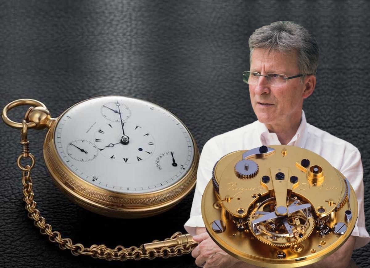 Breguet Tourbillon 2780 1815 Restaurierung und der Uhrmacher Michel Parmigiani