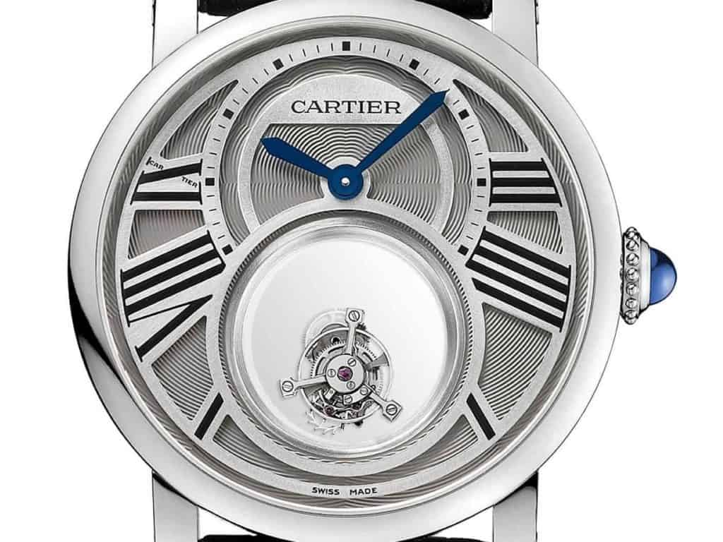 Rotonde de Cartier Double Tourbillon Mystérieux von 2013