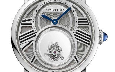 Schwebendes Tourbillon Cartier UhrRotonde de Cartier Double Tourbillon Mystérieux: Houdini lässt grüßen