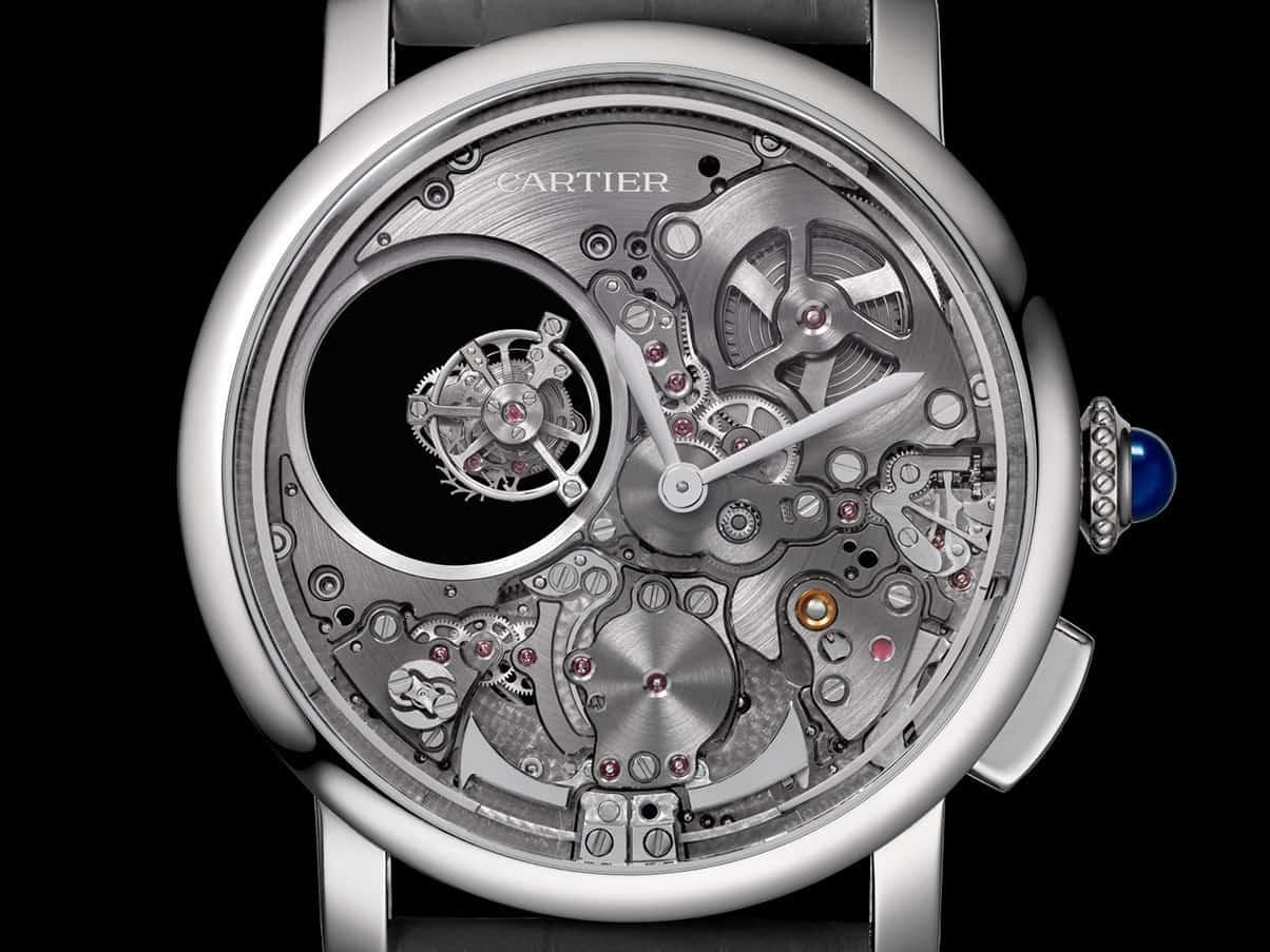 Cartier Rotonde de Cartier Minute Repeater Mysterious Double Tourbillon