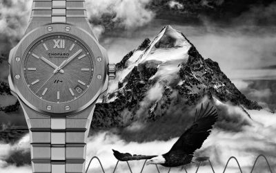 Chopard mit 8 Hertz Kaliber Chopard macht Tempo: Chopard Alpine Eagle Cadence 8HF