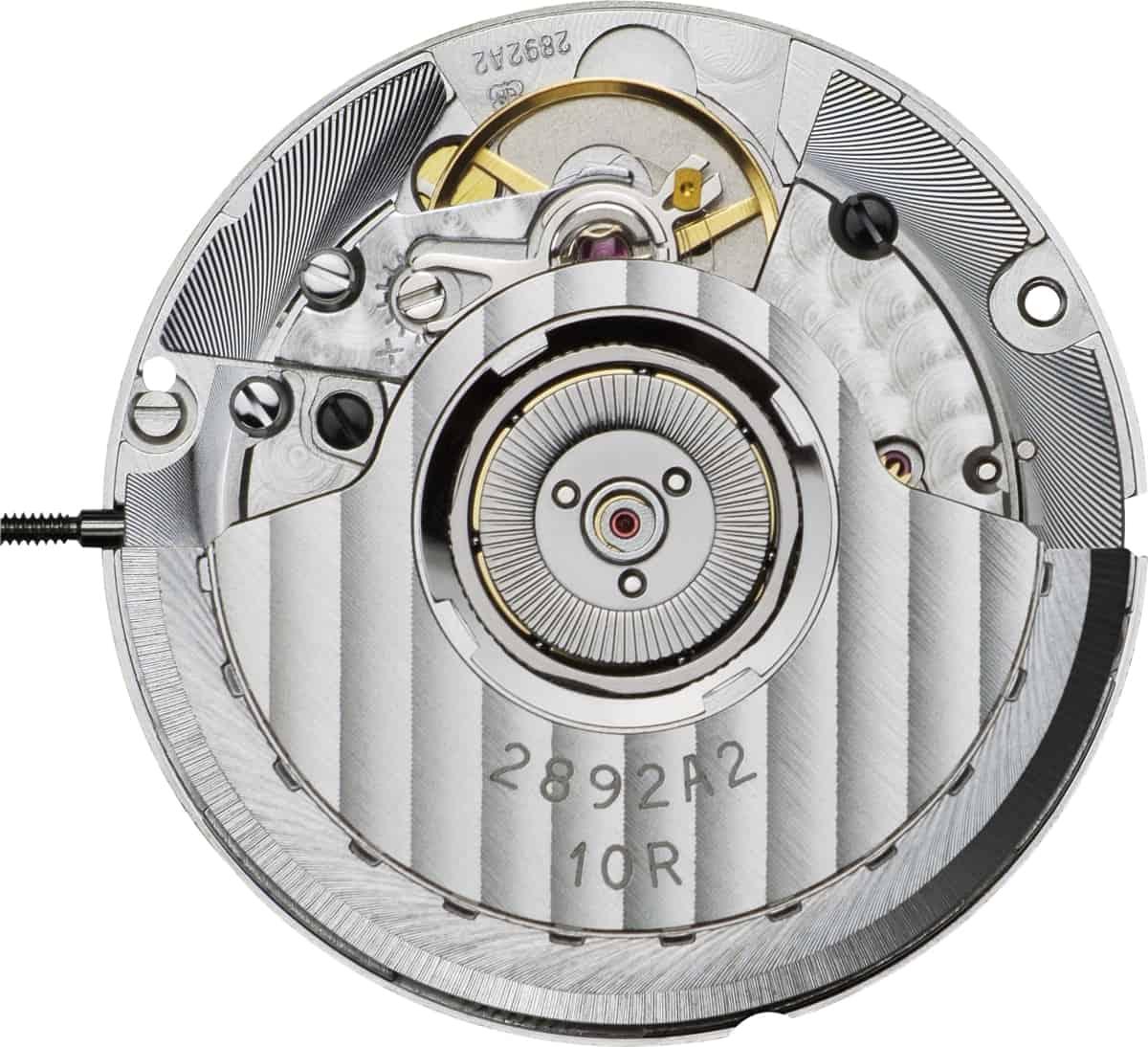 Das Automatikkaliber Eta 2824-A2 arbeitet mit 4 Hertz