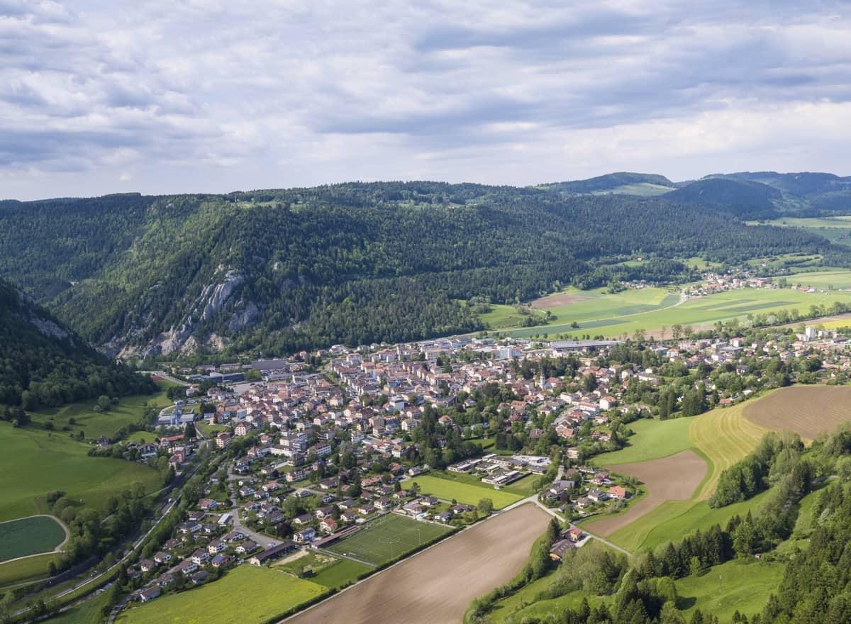 Die Region Fleurier und Val de Travers