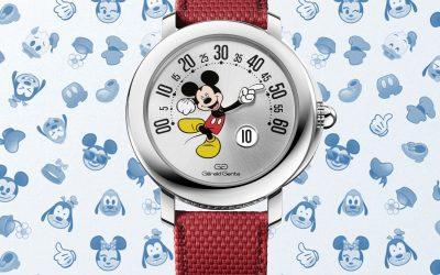 Gerald Genta EditionGerald Genta Arena Retrograde Mickey Mouse: Zurück in die Zukunft