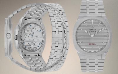 Gucci im Luxusuhren-MarktGucci 25H: Exklusive Mikrorotor-Kaliber Mechanik und mehr