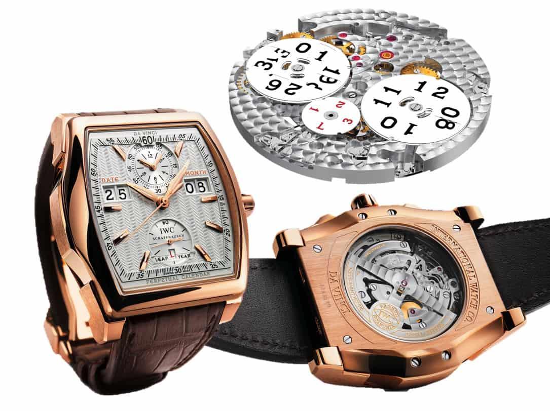 IWC Da Vinci Perpetual Calendar Digital Date-Month von 2009
