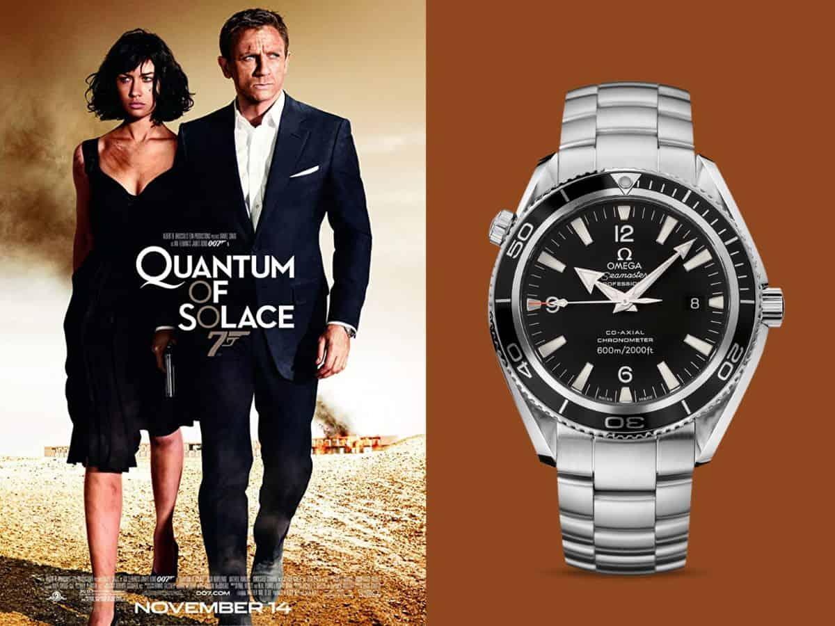 James Bond Ein Quantum Trost Omega Seamaster Planet Ocean