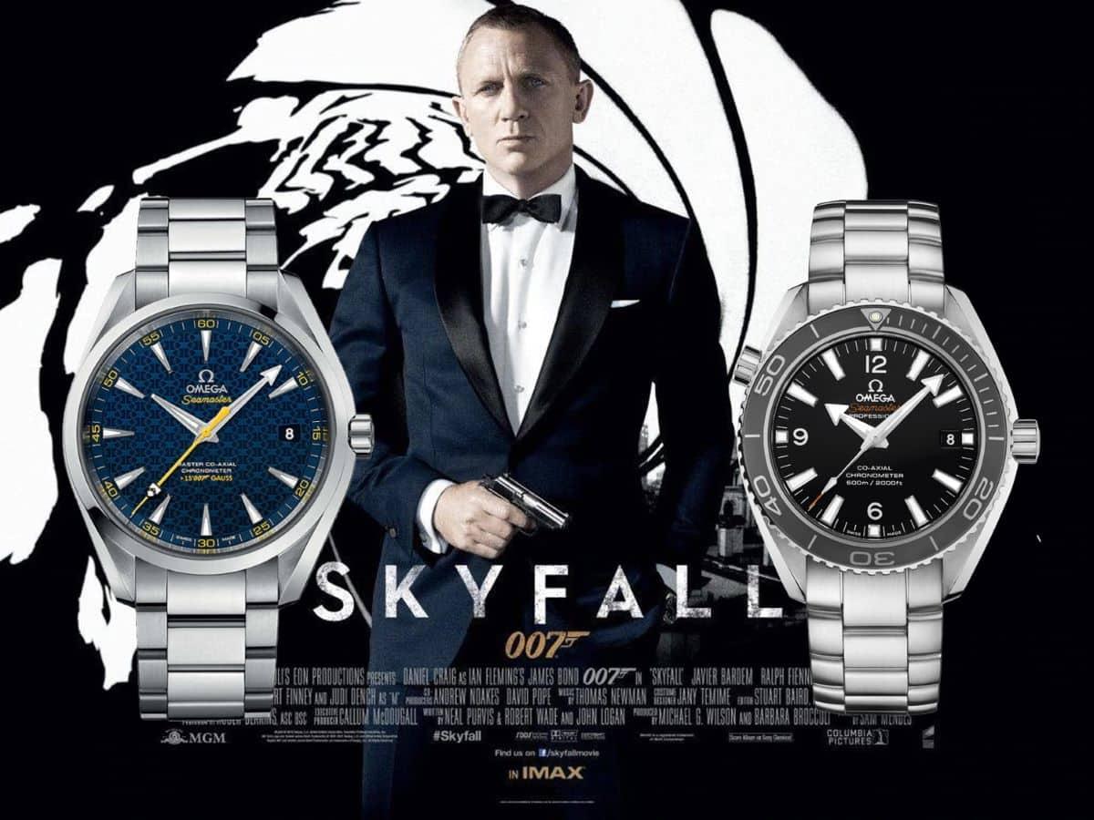 James Bond Uhren Skyfall 2012 Omega Seamaster Professional und Omega Seamaster Aqua Terra