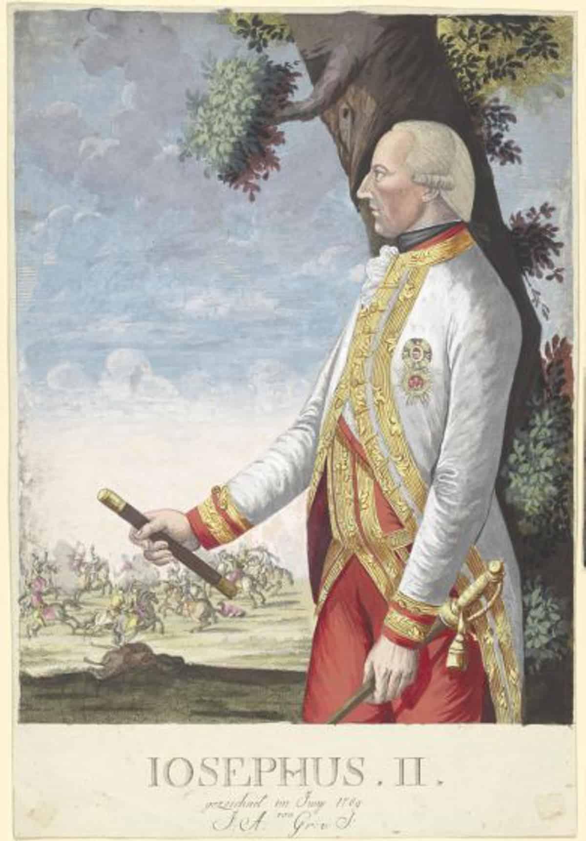 Bildnis von Kaiser Joseph II