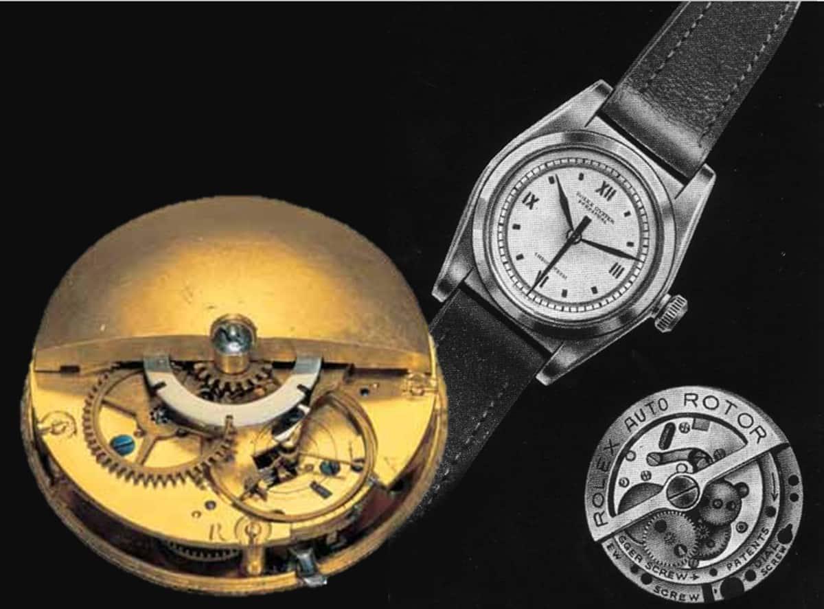 Perrelet Automatik und Rolex Oyster Perpetual