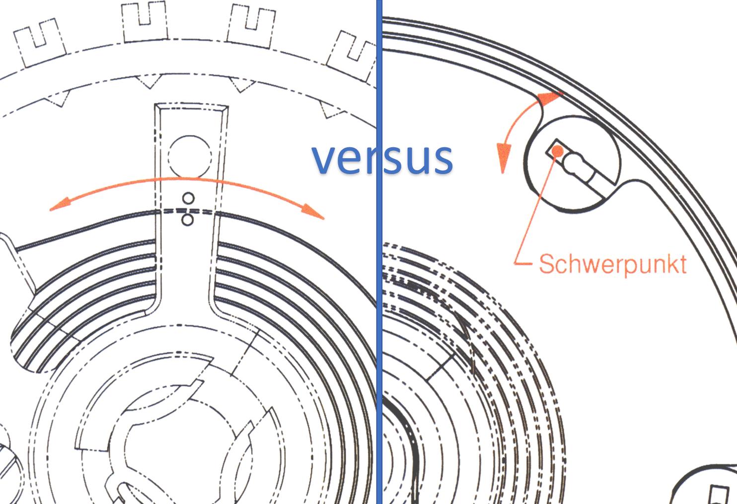 Rücker versus Masselot (C) Uhrenkosmos