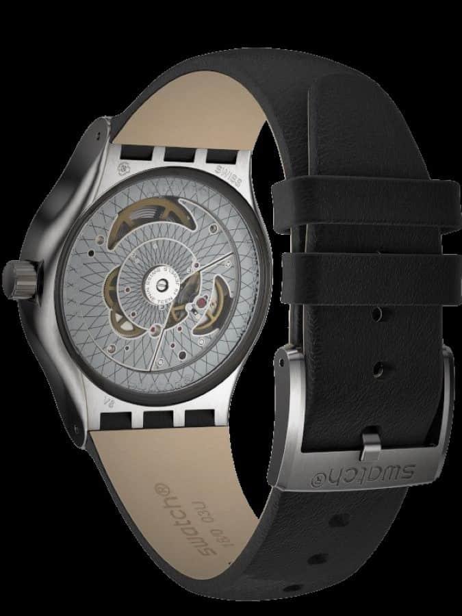 Rückseite Swatch Sistem51 Uhr