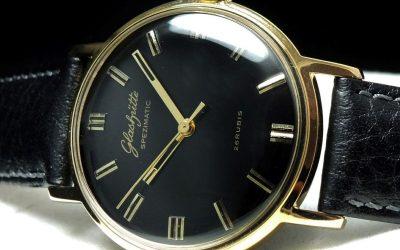 Vintage Uhr der GUB GlashütteGUB Spezimatic Glashütter Uhrenbetrieb: Ein Erfolg in Ost und West