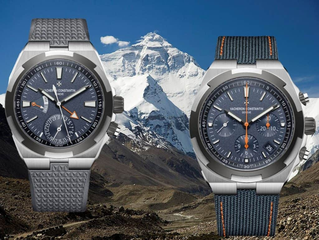 Vacheron Constantin Overseas Dual Time Everest und Overseas Chronograph Everest