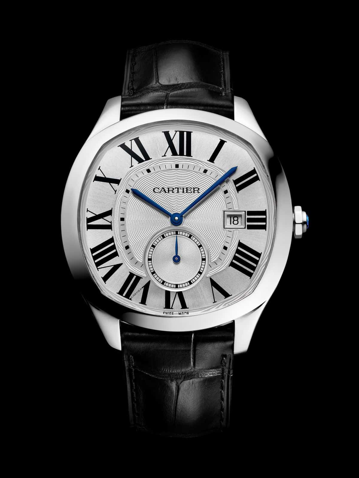 Cartier Drive de Cartier in Stahl