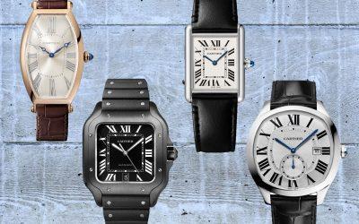 Cartier-Uhren mit FormgehäuseCartier: Luxus-Uhren mit Ecken und Kanten
