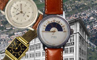 Doxa Uhren GeschichteDoxa Uhren und die Geschichte der Uhrenmarke Doxa seit 1889