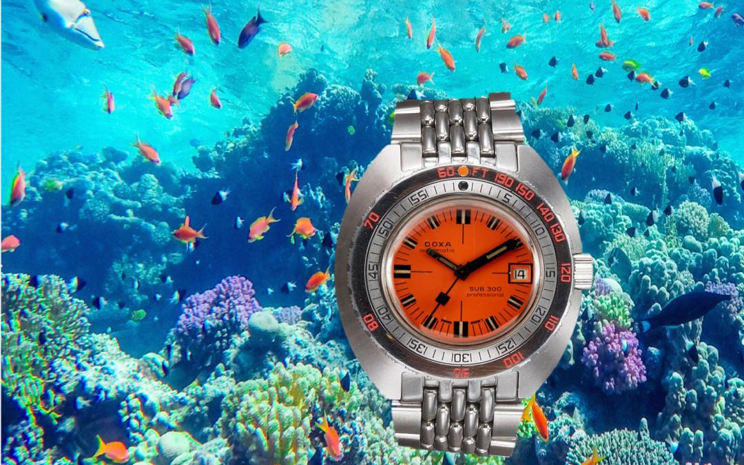 Geschichte der Uhrenmarke DoxaAbtauchen mit den Doxa Taucheruhren