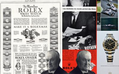 Rolex KommunikationAll In! So stark setzte Hans Wilsdorf auf die Rolex Werbung