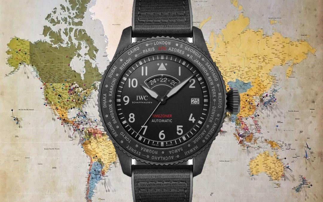 IWC mit Titan-KeramikgehäuseIWC Pilot's Watch Timezoner Top Gun Ceratanium