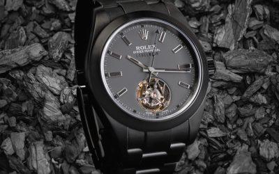 Rolex Individualisierer Label NoirRolex Tourbillon – ja, das gibt es