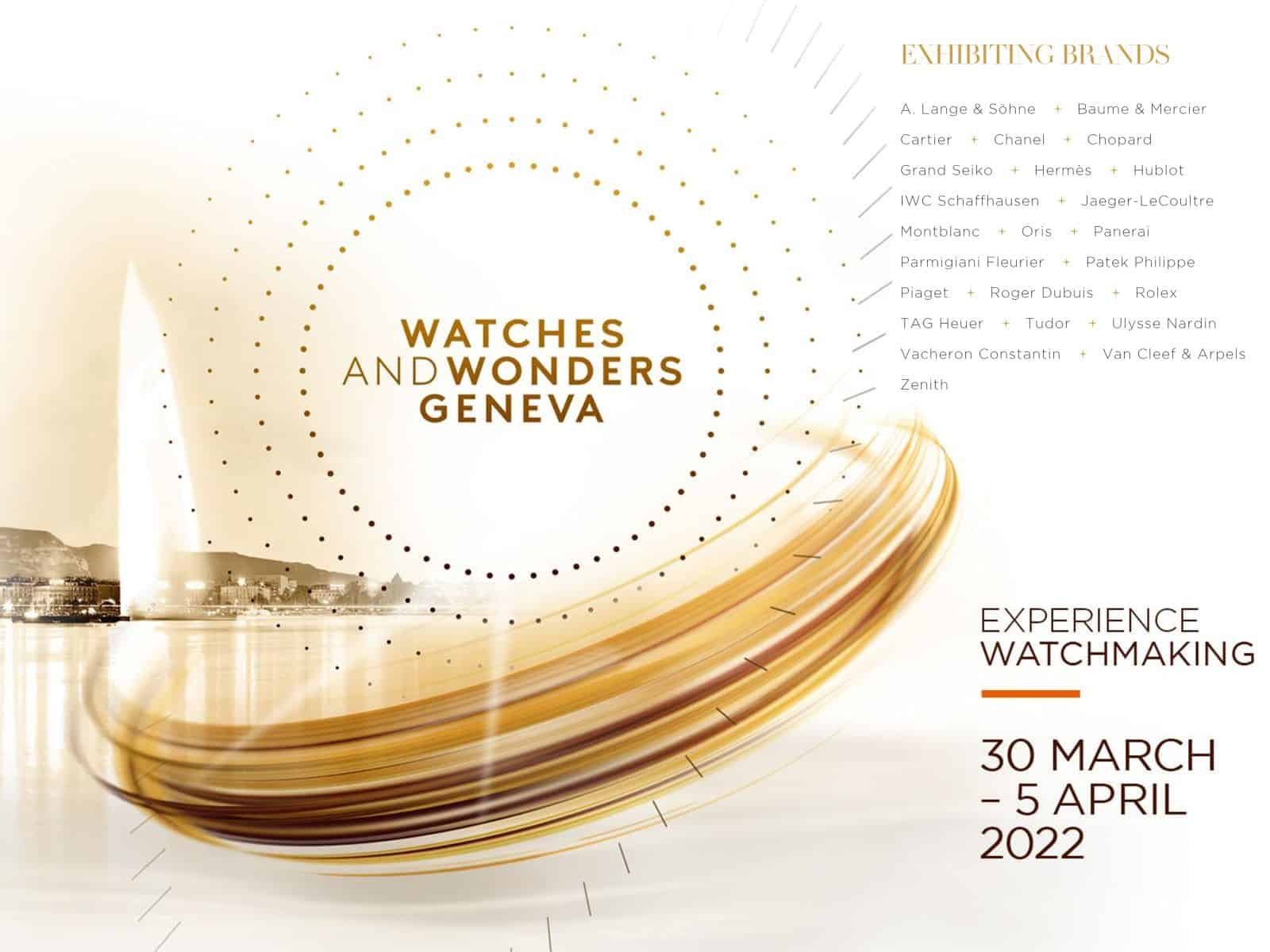 Watches and Wonders 2022
